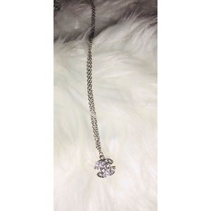 925 CHANEL small silver necklace✨ AUTHENTIC